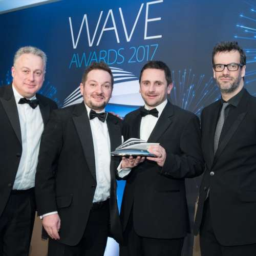 Wave Awards 2017. Photo by Steve Dunlop +447762084057 steve@stevedunlop.com