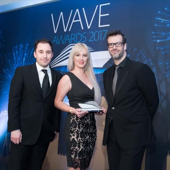 Wave Awards 2017. Photo by Steve Dunlop +447762084057 steve@stevedunlop.com