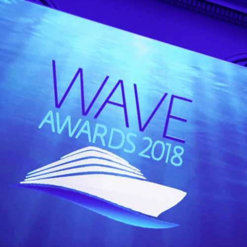 The Wave awards 2018.  Photo by Steve Dunlop steve@stevedunlop.com www.stevedunlop.com +447762084057
